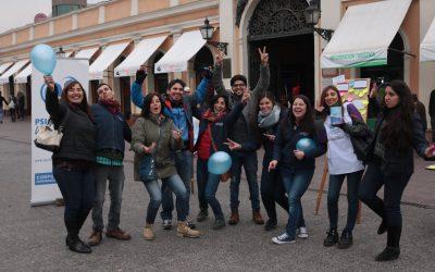 PVCh realiza gran intervención social callejera por la campaña #Indígnate